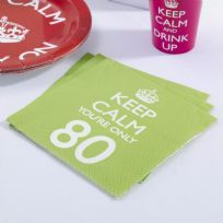 Keep Calm You're Only 80 Napkins (20)
